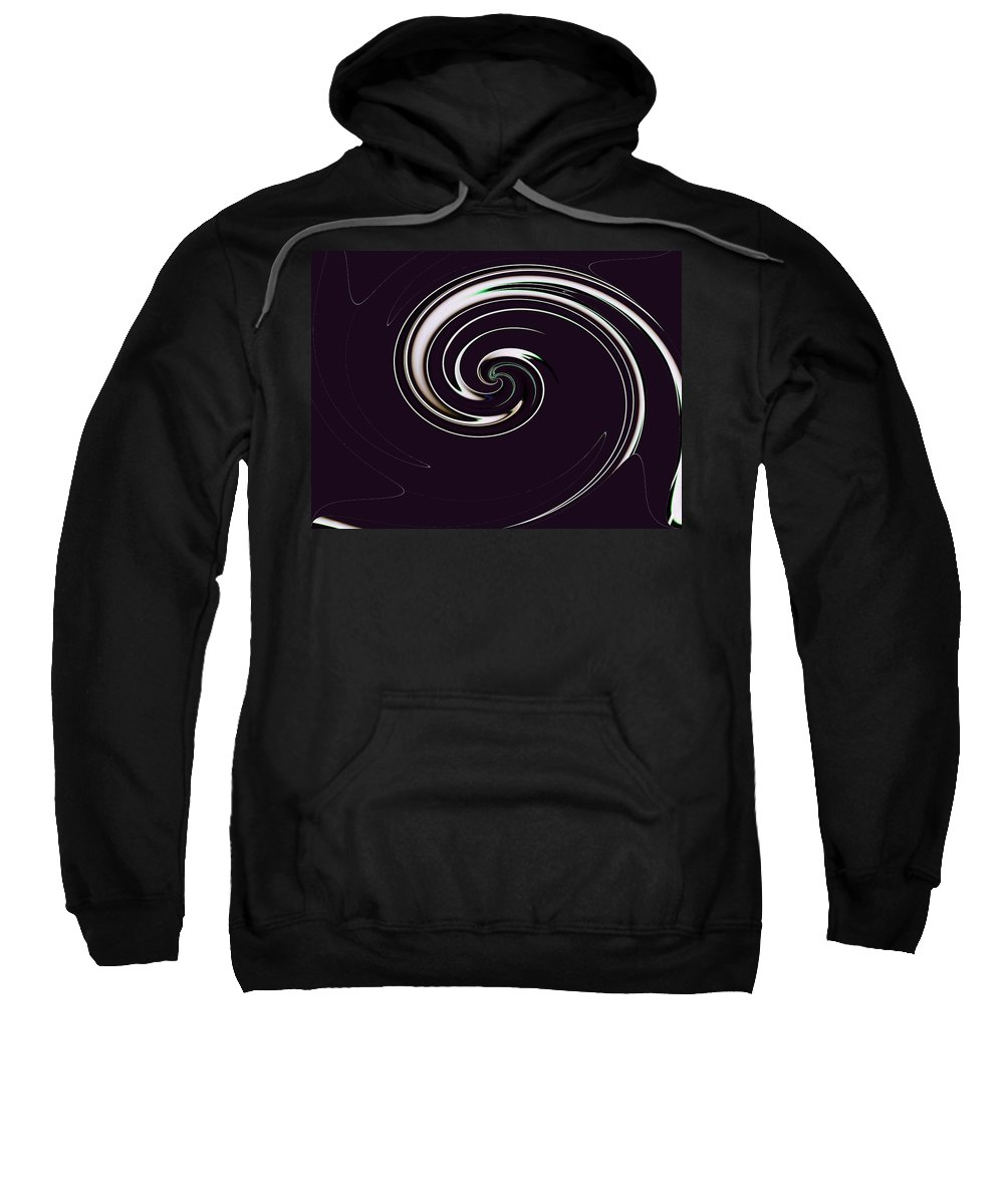 Abstract Sweatshirt featuring the photograph Curl Up by Tim Allen