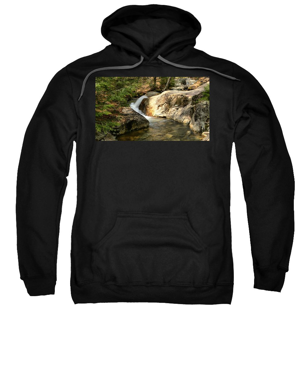 New Hampshire Sweatshirt featuring the photograph Curve by Nancie DeMellia
