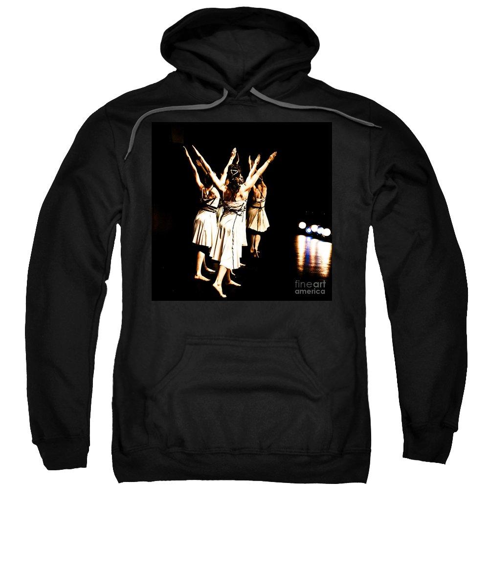 Dance Sweatshirt featuring the photograph Dance - Y by Scott Sawyer