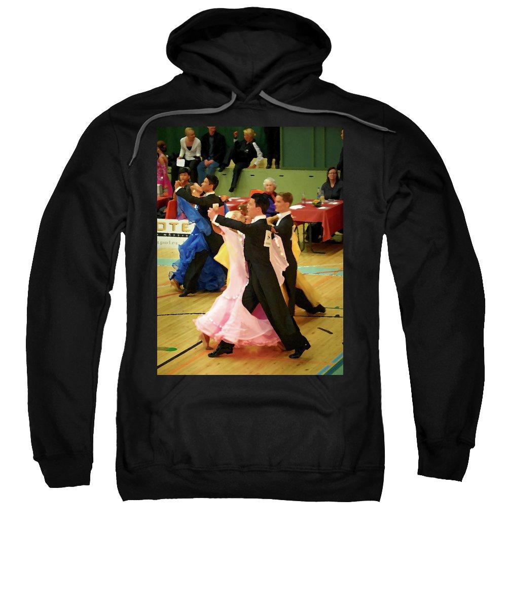 Lehtokukka Sweatshirt featuring the photograph Dance Contest Nr 18 by Jouko Lehto