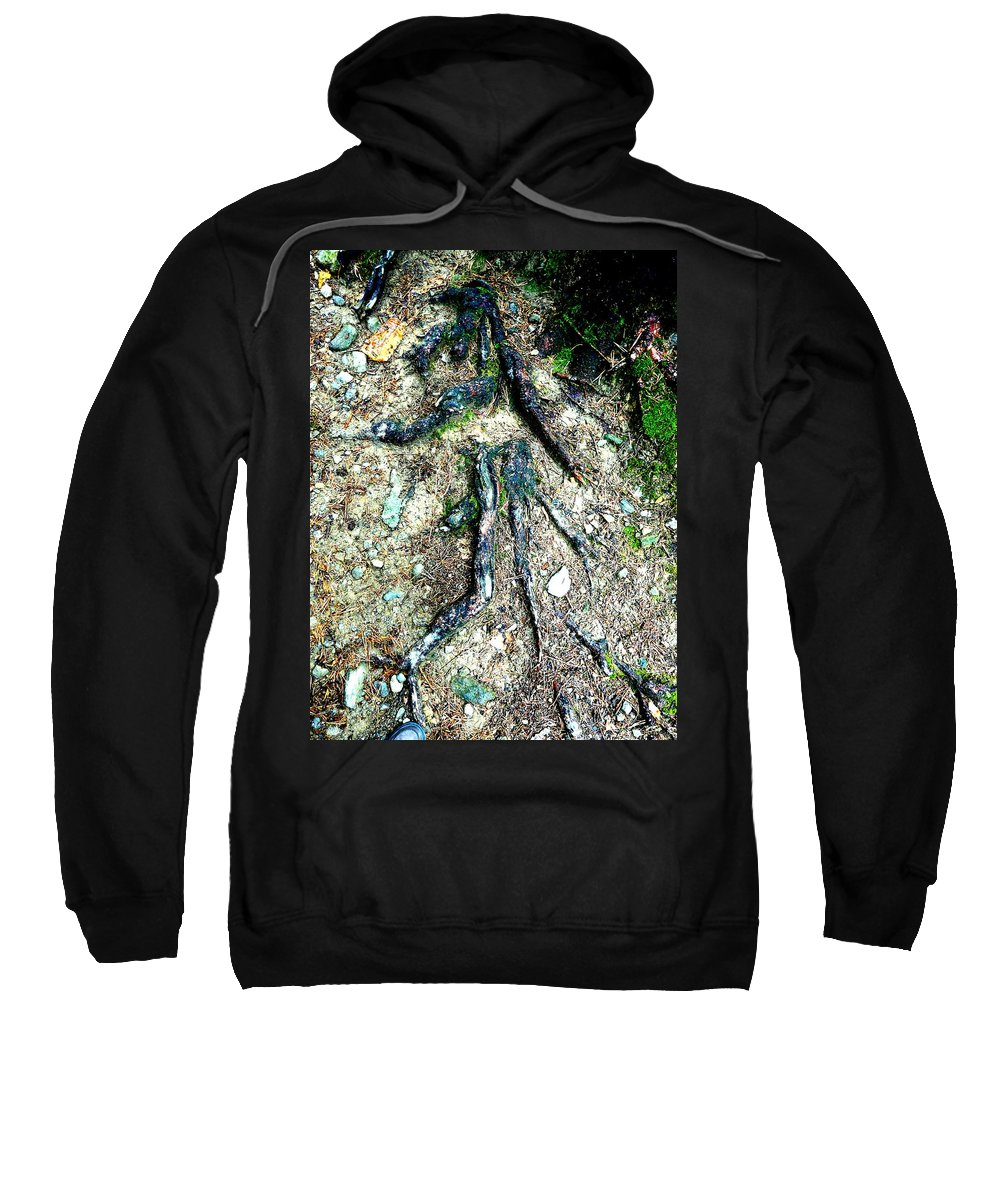Roots Sweatshirt featuring the photograph Dancer by Valerie Ornstein