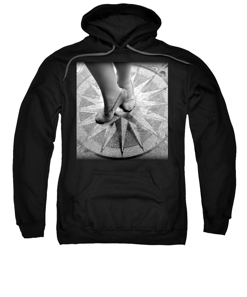 Dancer Sweatshirt featuring the photograph Dancing In The Right Direction by Abigail Eremic