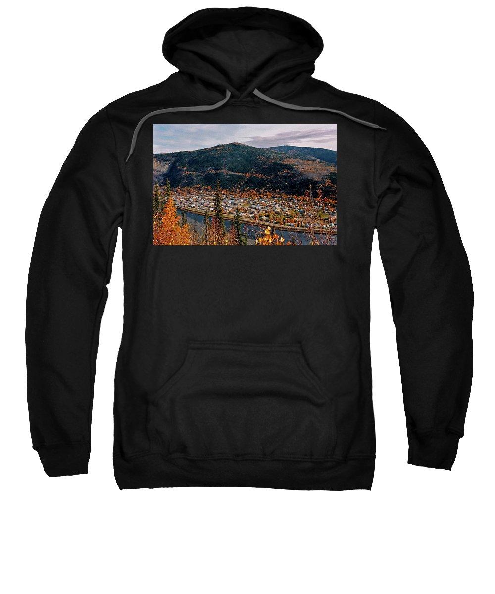 Canada Sweatshirt featuring the photograph Dawson City - Yukon by Juergen Weiss