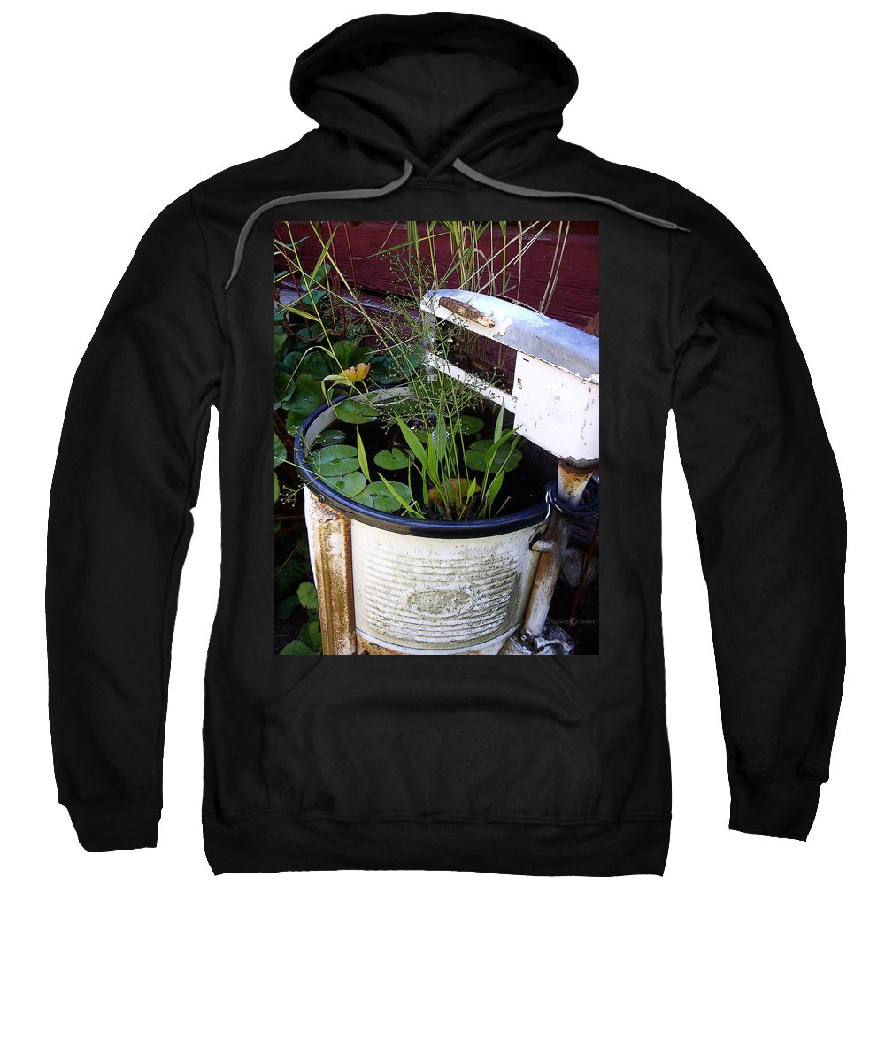 Wringer Sweatshirt featuring the photograph Dead Wringer by Tim Nyberg