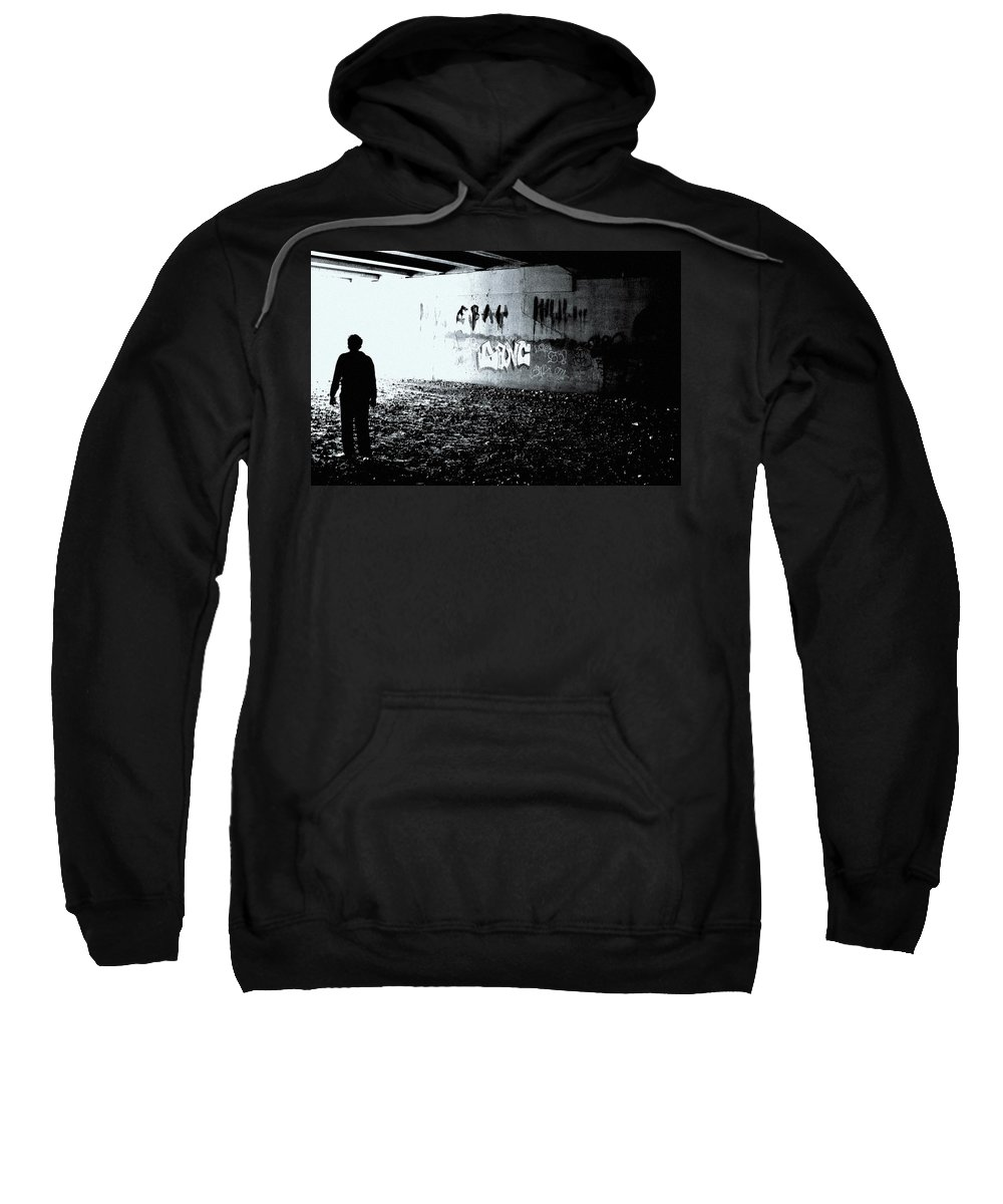 Death Of Ebay Sweatshirt featuring the photograph Death Of Ebay by Ed Smith