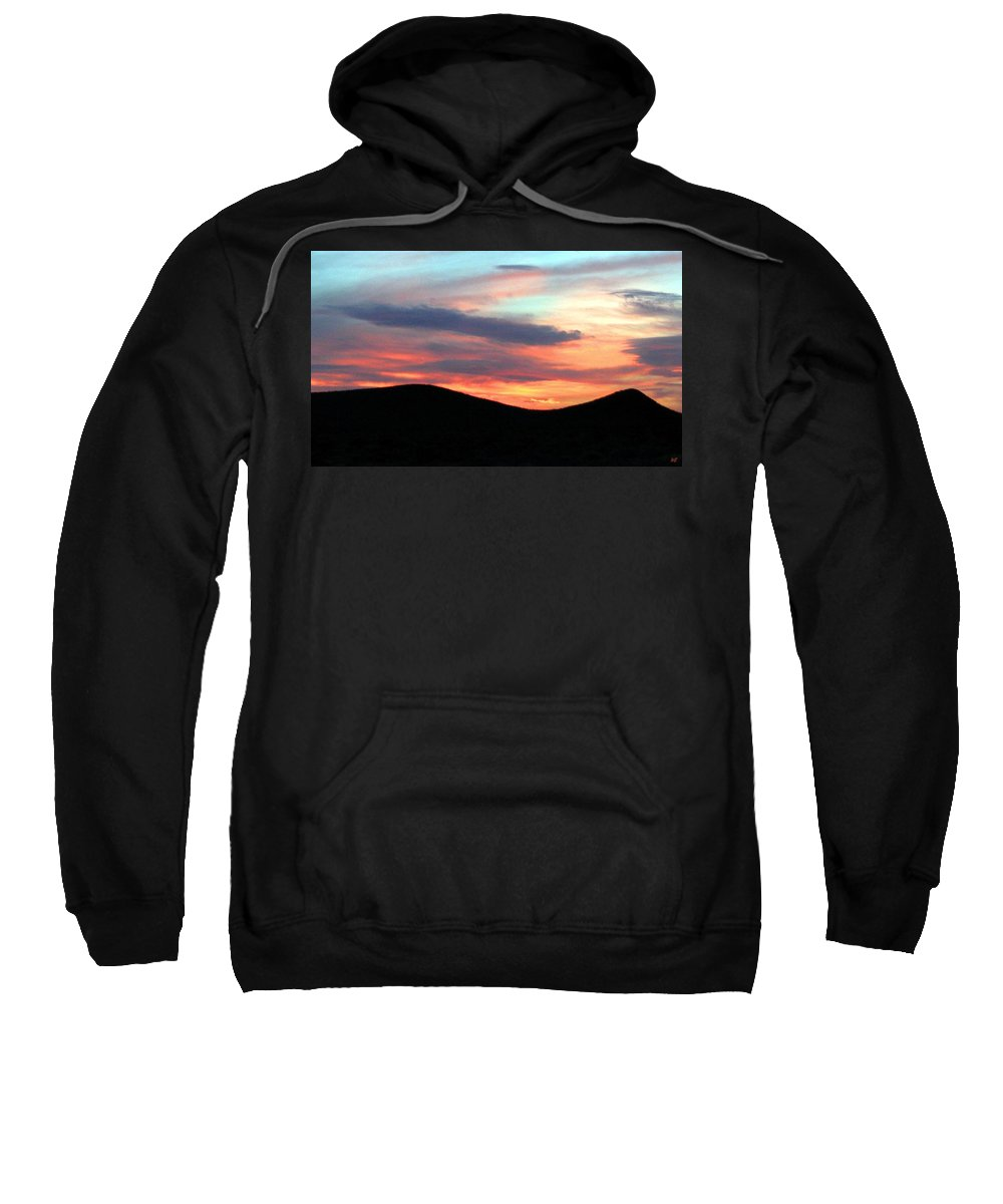 Sunset Sweatshirt featuring the photograph Death Valley Sunset by Will Borden