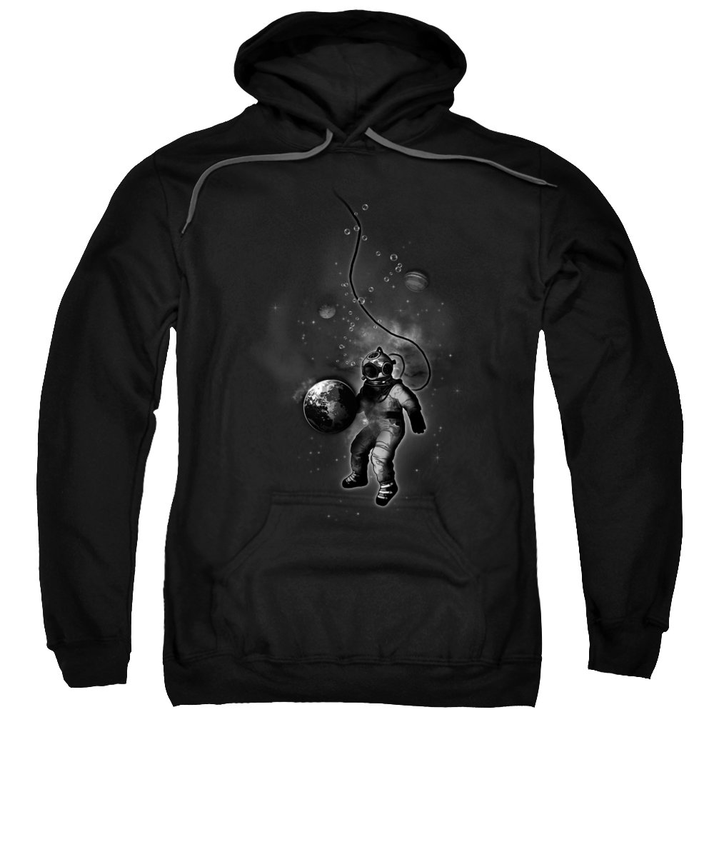 Planets Hooded Sweatshirts T-Shirts