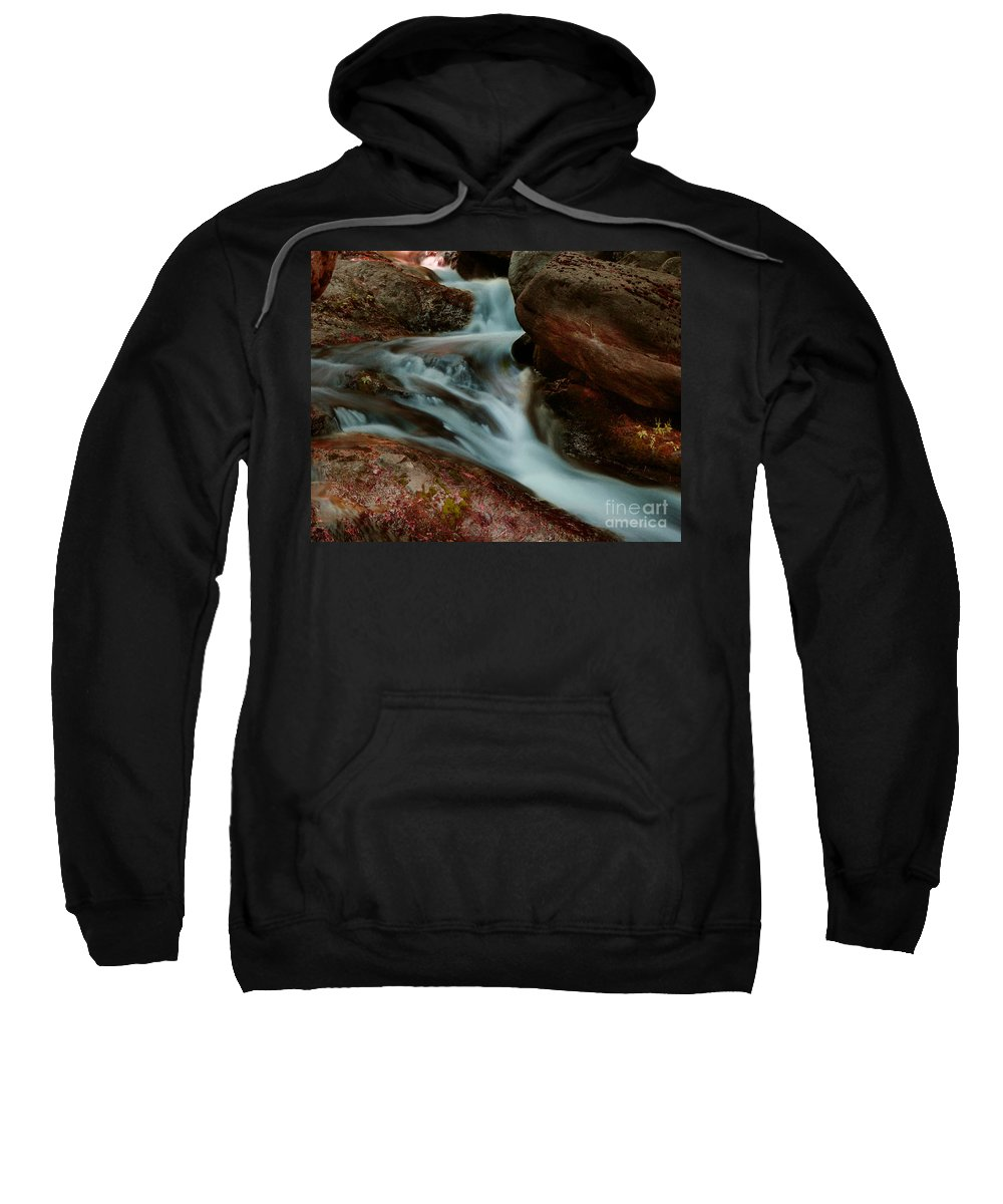 Creek Sweatshirt featuring the photograph Deer Creek 04 by Peter Piatt