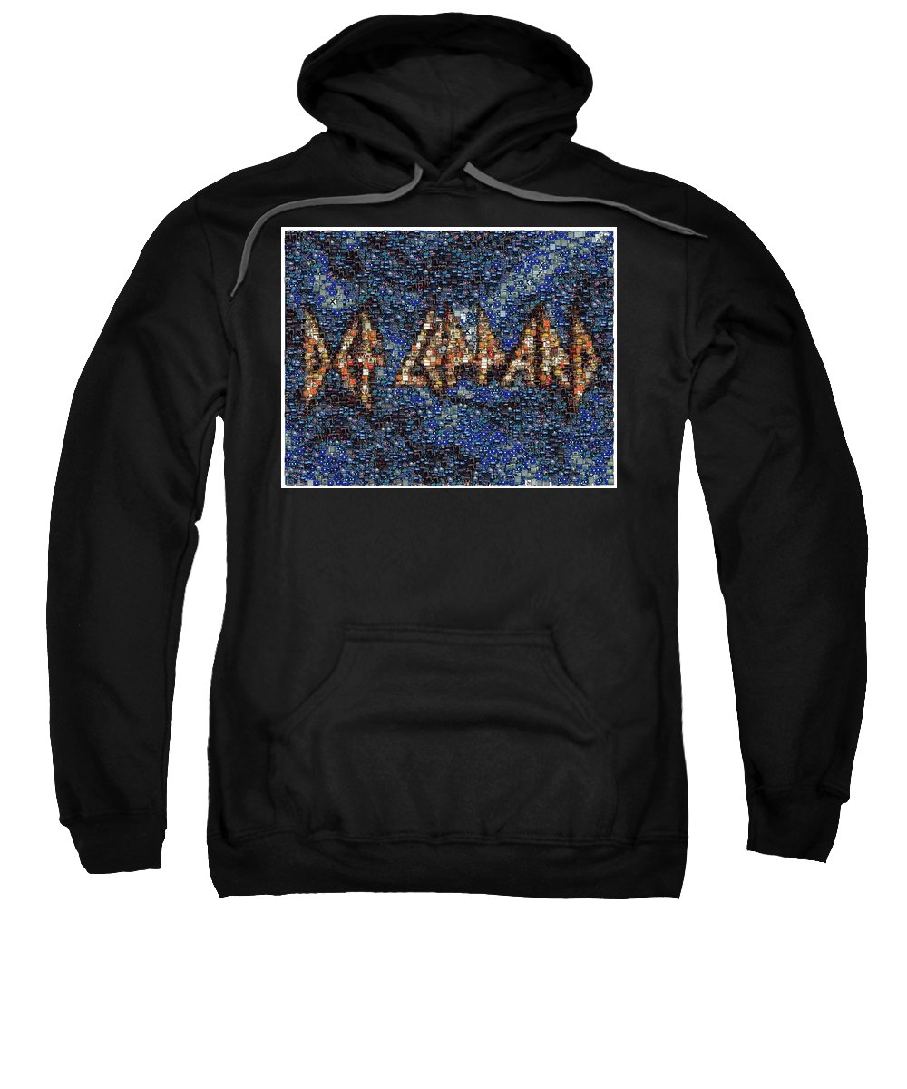 Def Leppard Hooded Sweatshirts T-Shirts