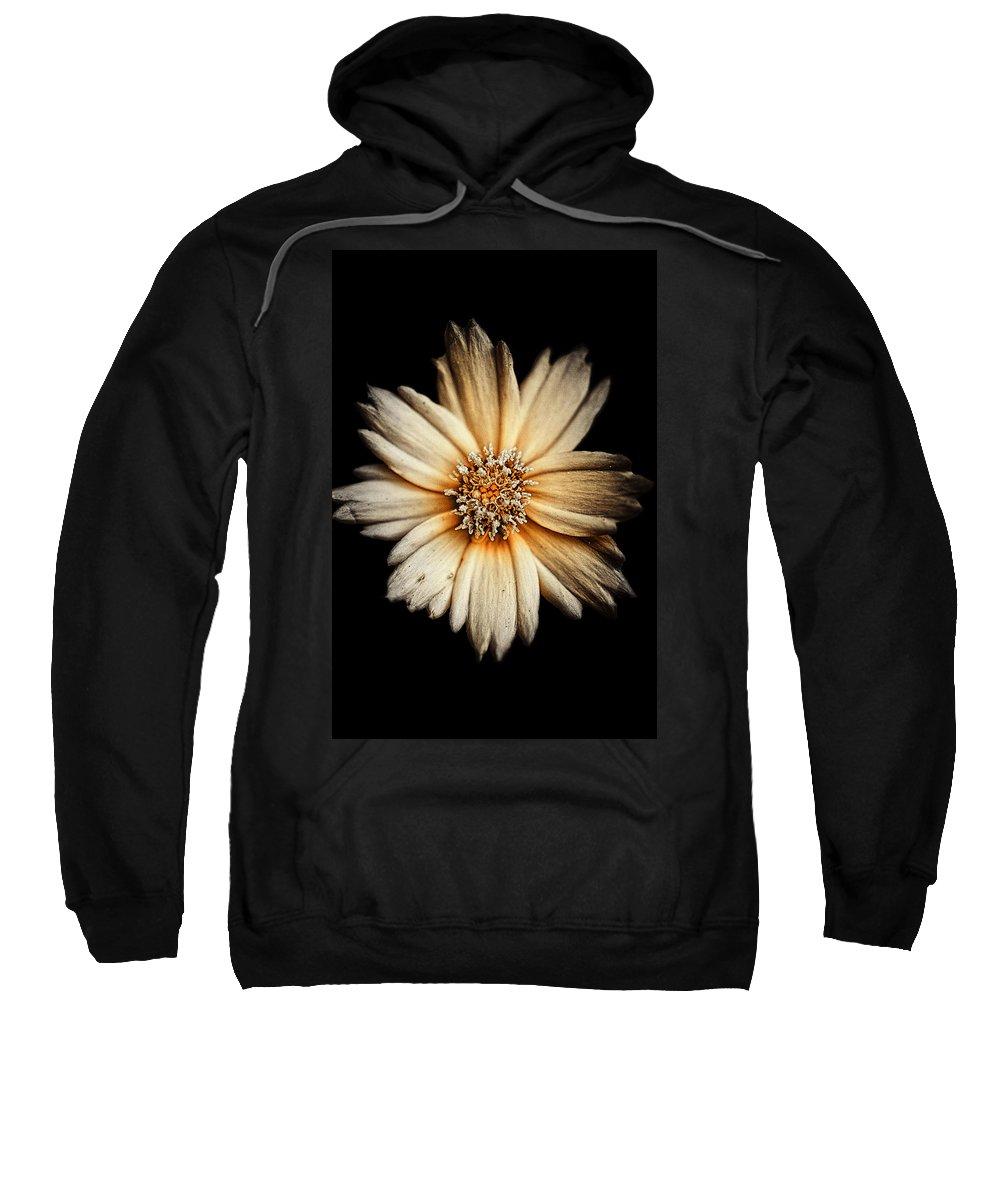 Flower Sweatshirt featuring the photograph Deflowering by Scott Wyatt
