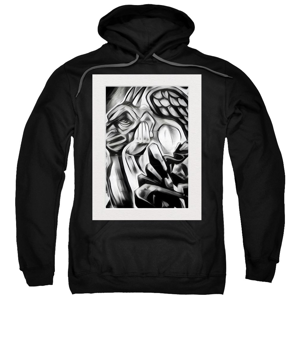 Art Sweatshirt featuring the photograph Demon In The Sky by Ryan Fox
