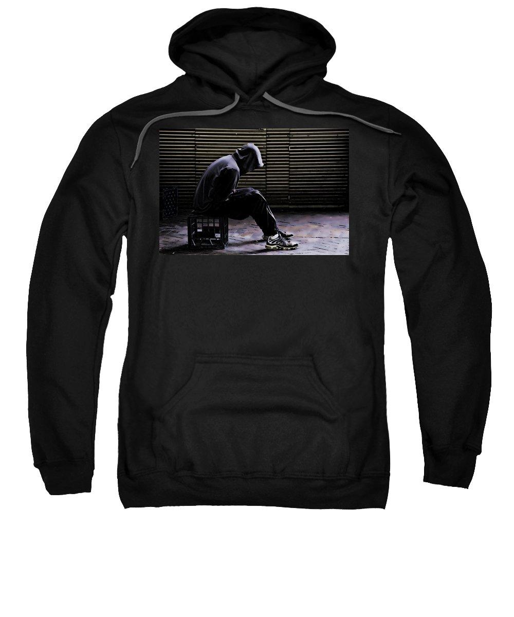 Despair Sweatshirt featuring the photograph Despair by Sheila Smart Fine Art Photography