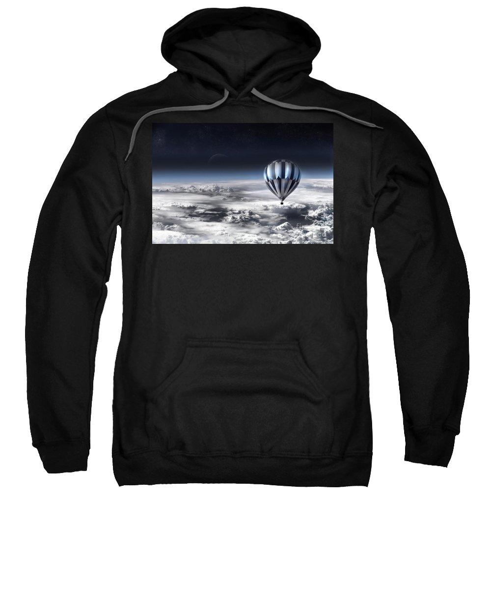 Sky Sweatshirt featuring the photograph Destiny by Jacky Gerritsen
