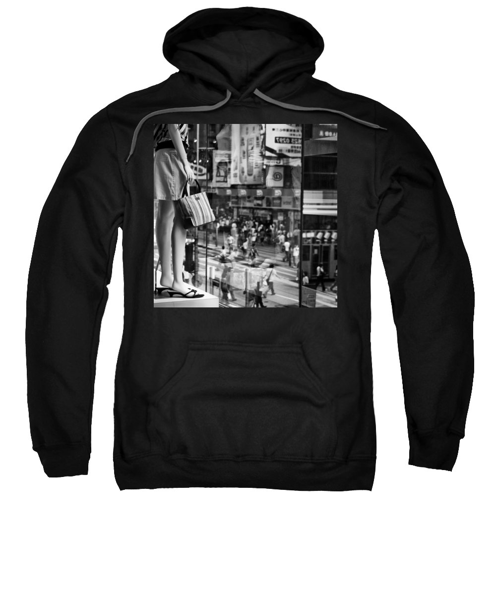 Mannequin Sweatshirt featuring the photograph Display by Dave Bowman