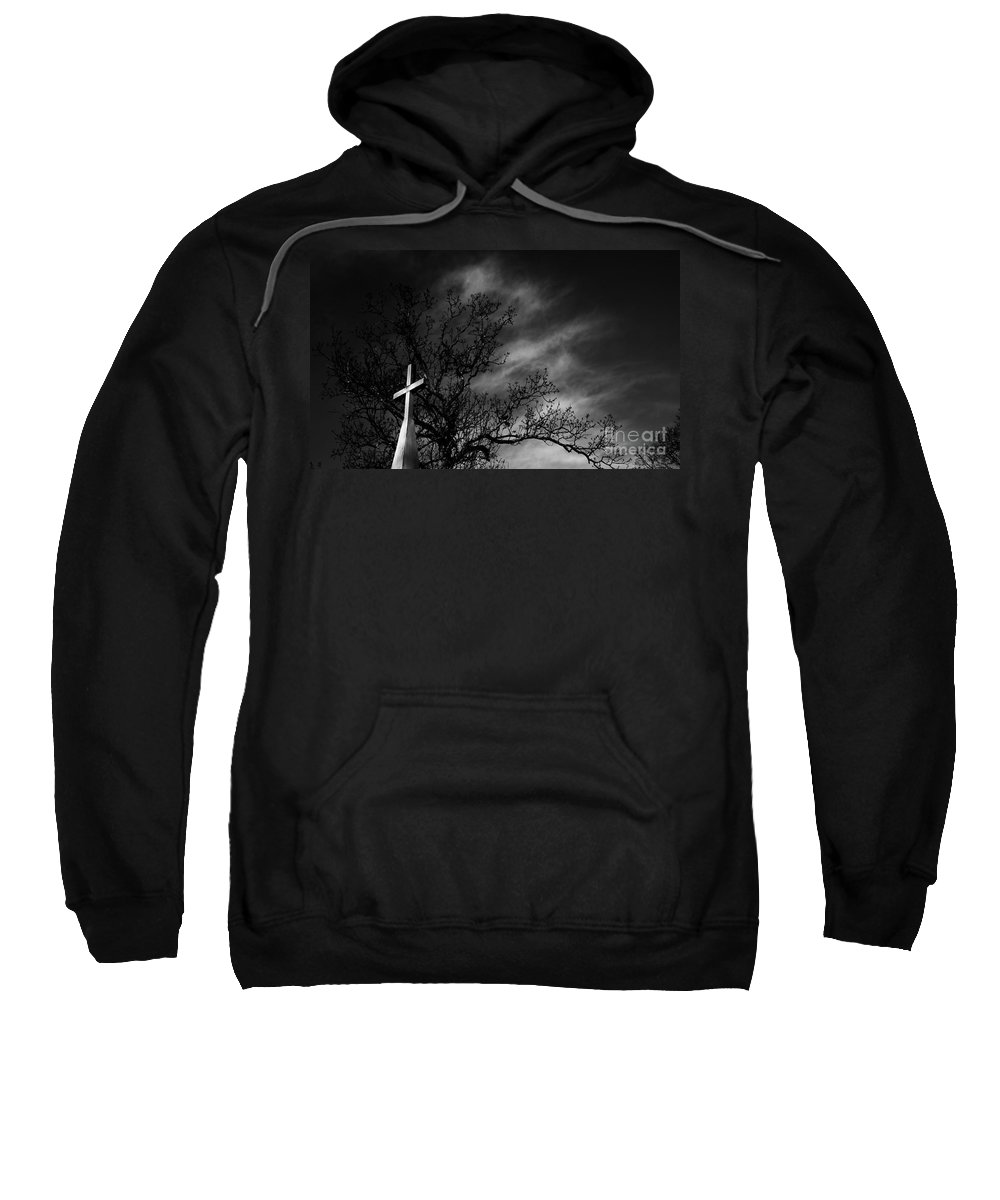Disquiet Sweatshirt featuring the photograph Disquiet by Amanda Barcon