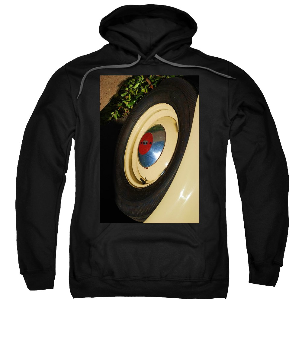 Truck Sweatshirt featuring the photograph Dodge Tire by Rob Hans