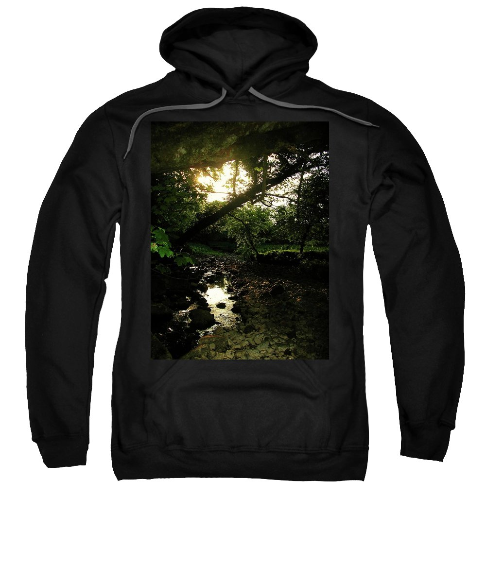 Landscape Sweatshirt featuring the photograph Doonally Co. Sligo Ireland. by Louise Macarthur Art and Photography