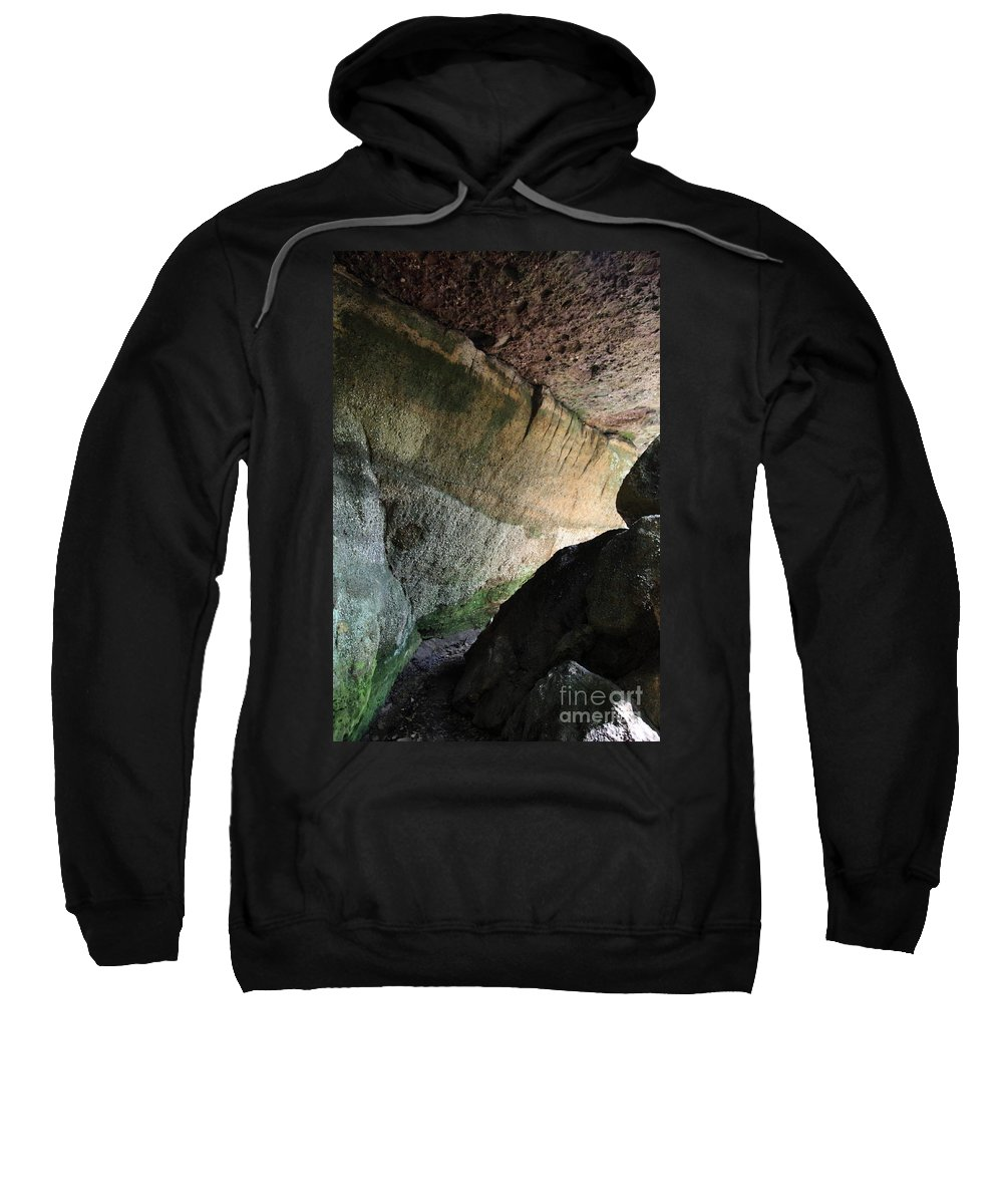 Stone Sweatshirt featuring the photograph Dove In Flight by Amanda Barcon