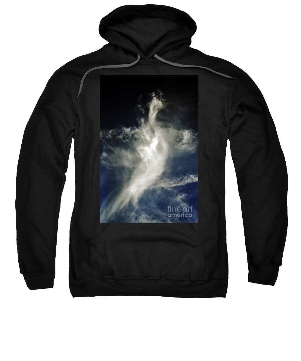 Clay Sweatshirt featuring the photograph Dragon Cloud by Clayton Bruster