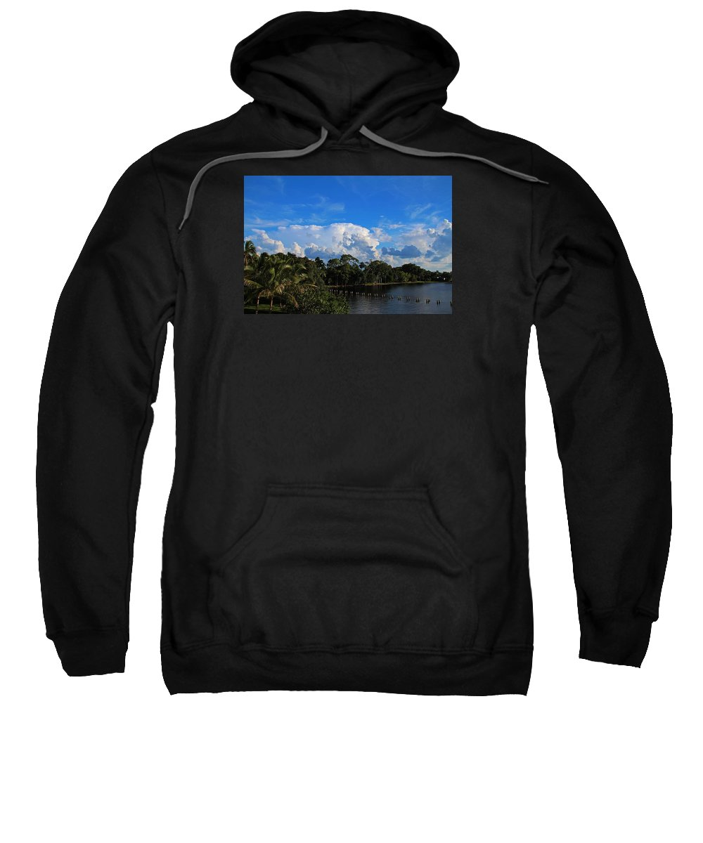 Fort Myers Sweatshirt featuring the photograph Dream A Little Daydream by Michiale Schneider