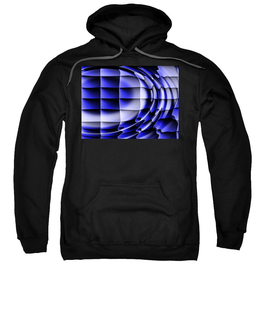 Squares Sweatshirt featuring the digital art Dreams by Robert Orinski