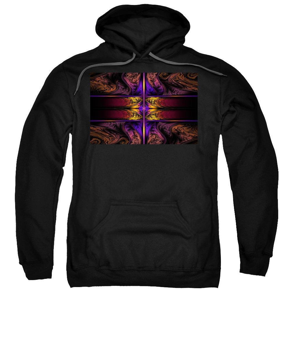 Apo Sweatshirt featuring the digital art Dreamstate Alpha by Lyle Hatch