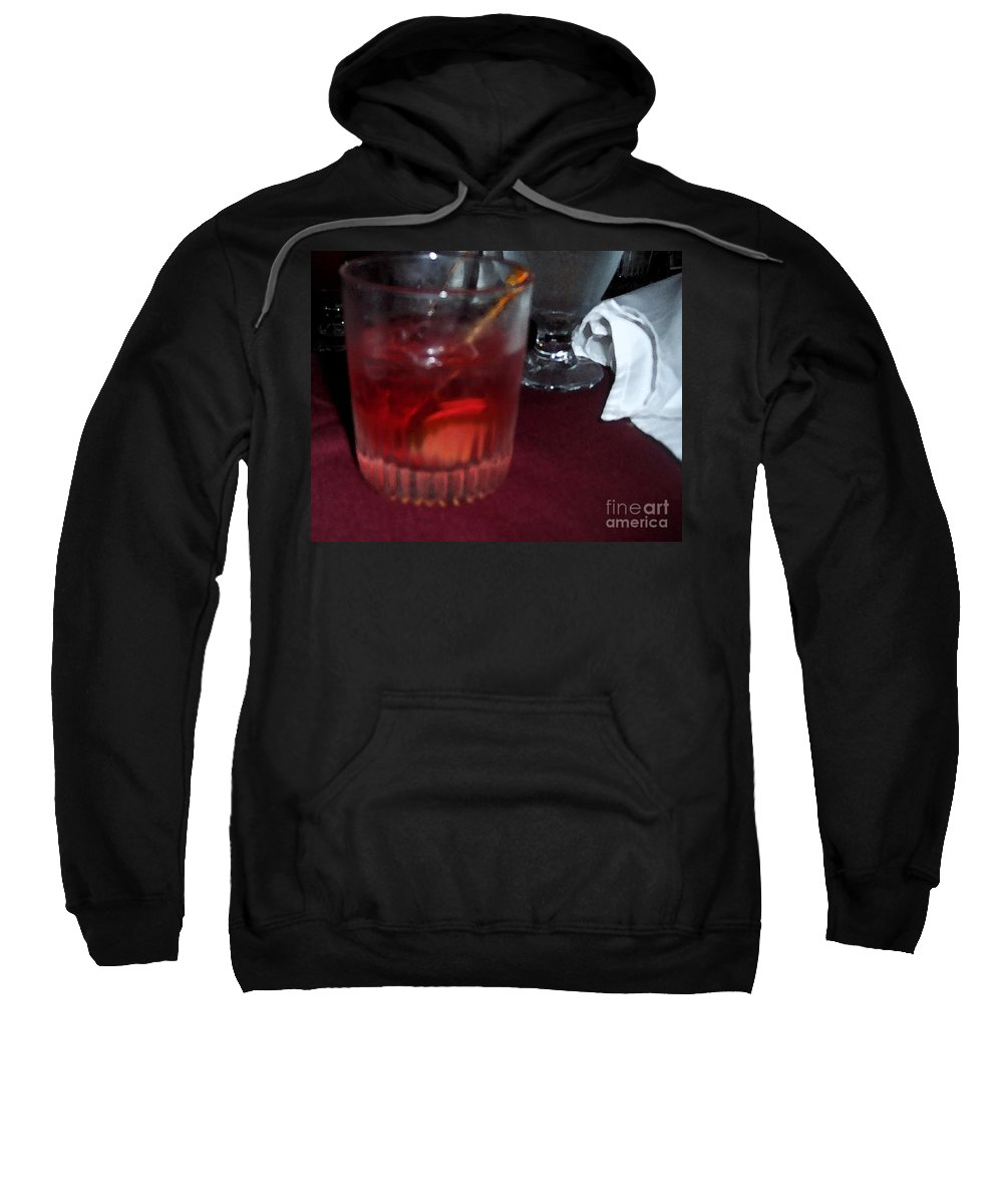 Drinks Sweatshirt featuring the photograph Drink Up by Debbi Granruth
