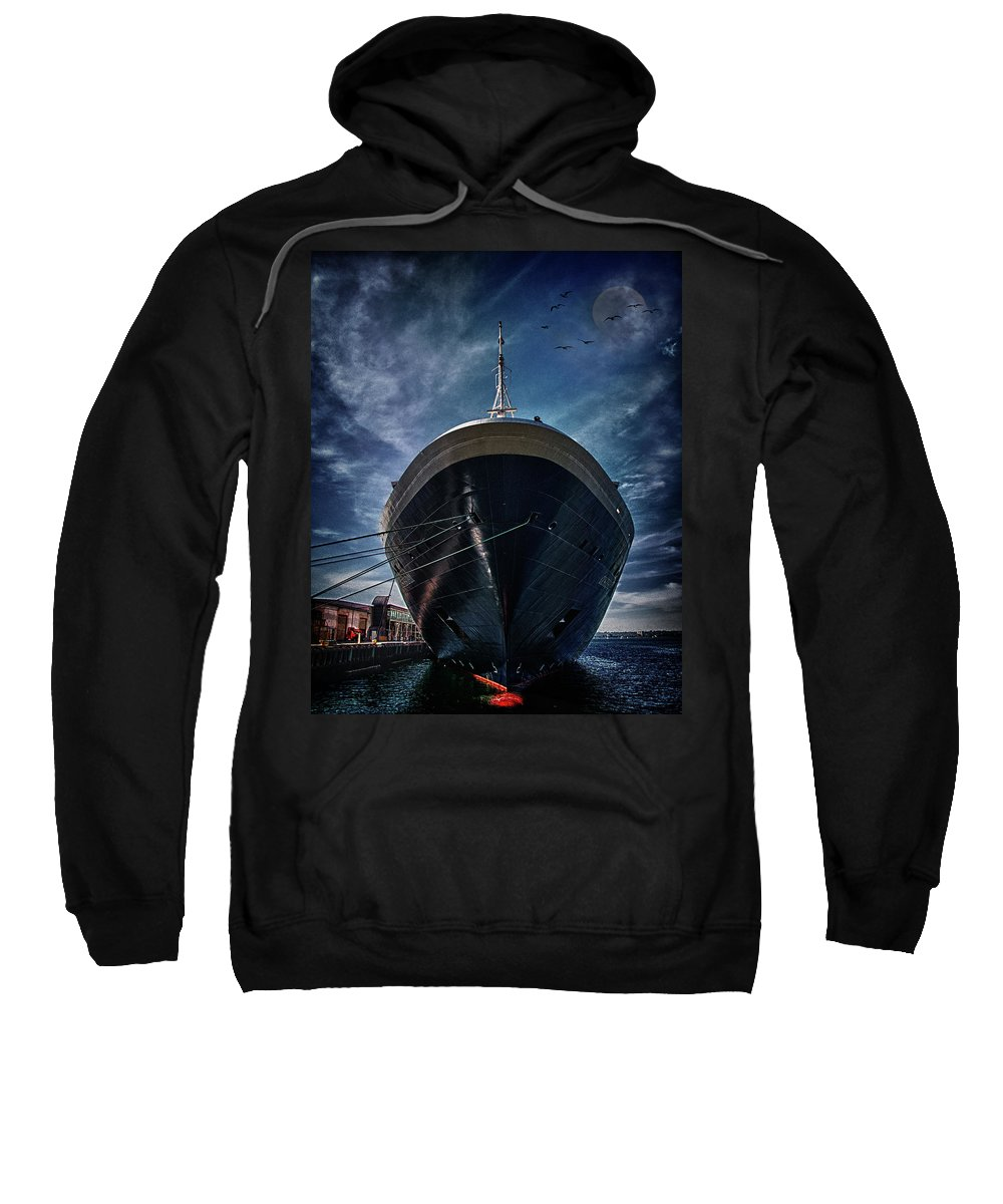 Cruise Sweatshirt featuring the photograph Dutchman by Chris Lord