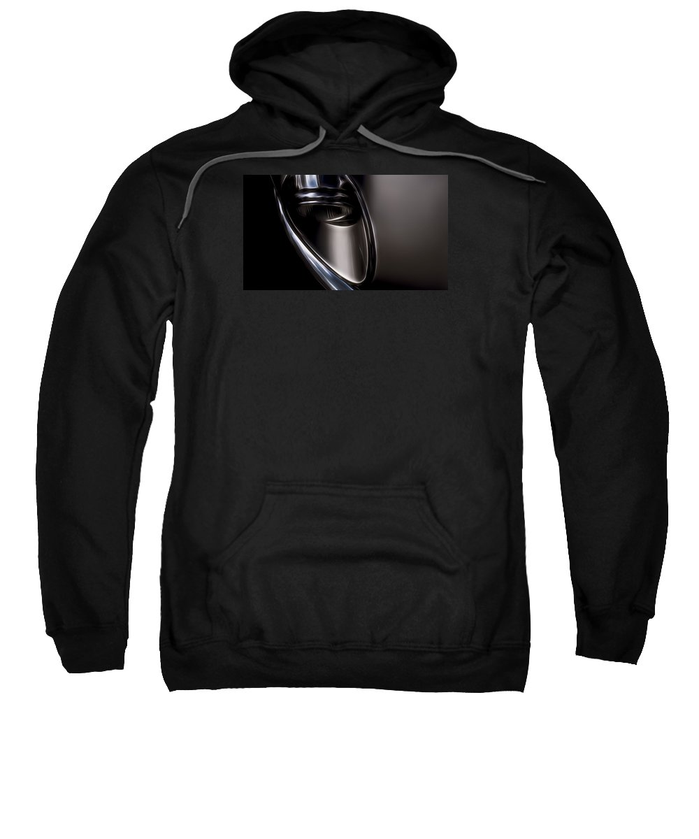 E-type Sweatshirt featuring the photograph E-type by Carl H Payne