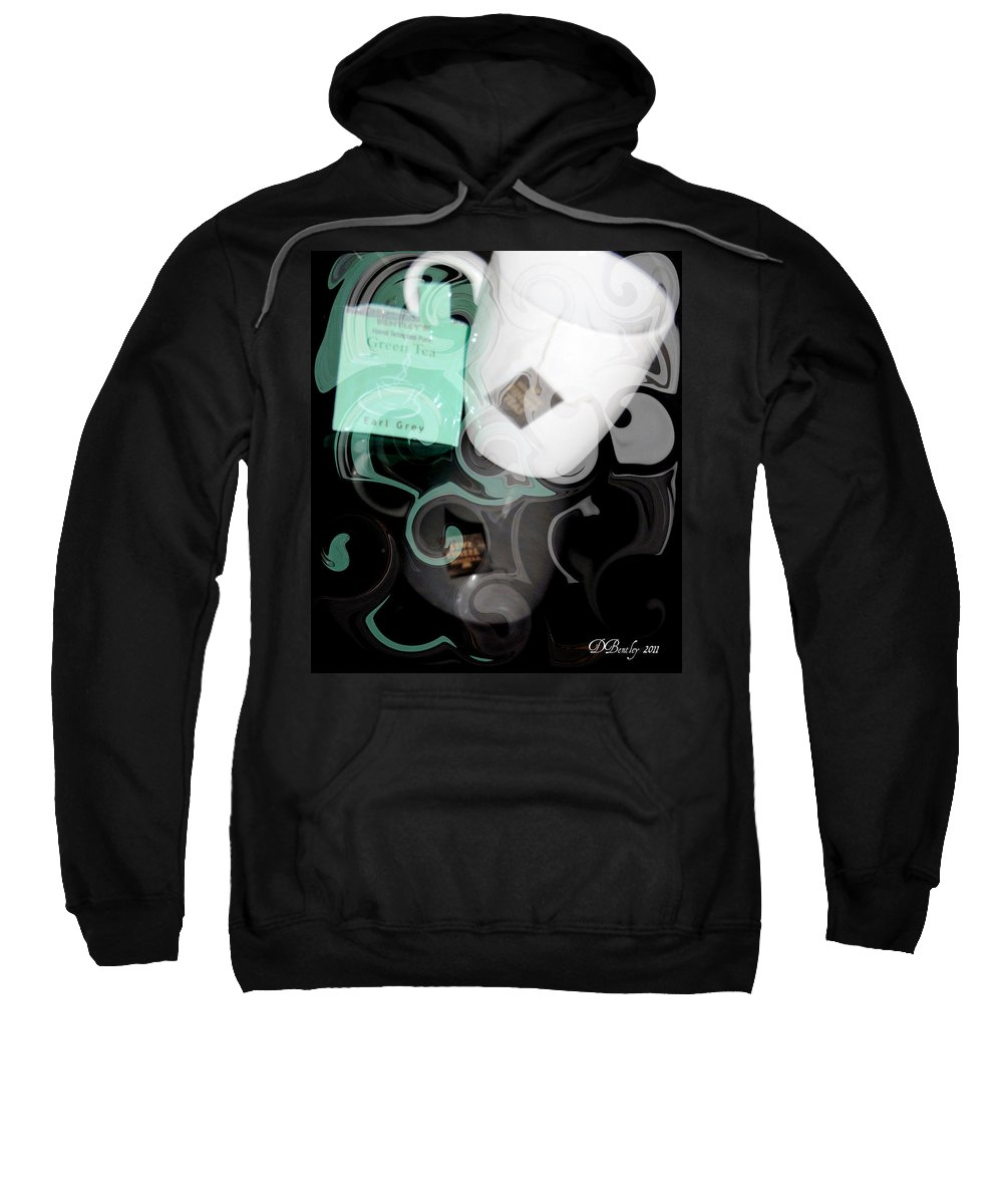 Tea Sweatshirt featuring the photograph Earl Grey by Donna Bentley