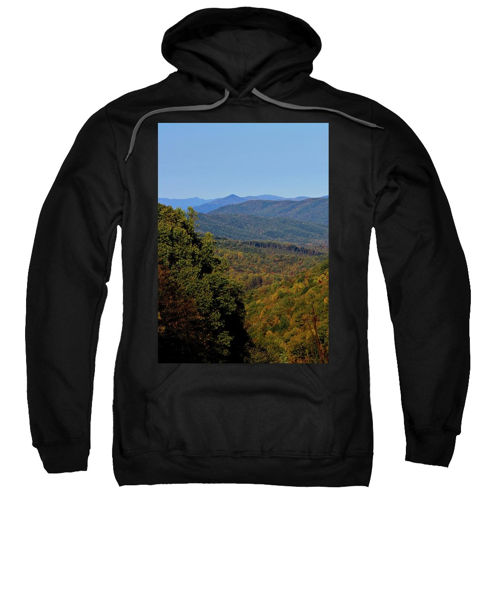 Fall Sweatshirt featuring the photograph Early Fall In Virginia by Teresa Mucha