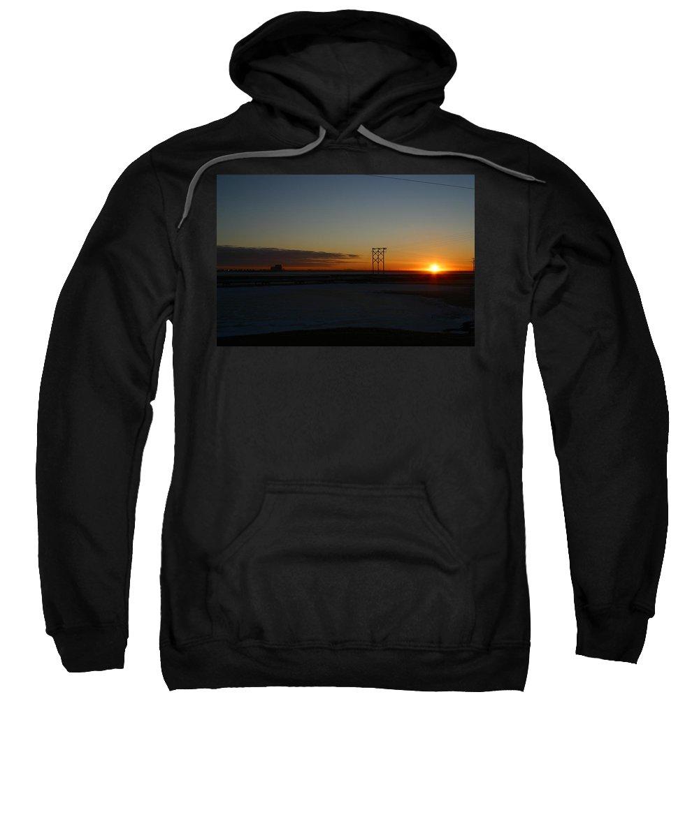 Sunrise Sweatshirt featuring the photograph Early Morning Sunrise by Anthony Jones