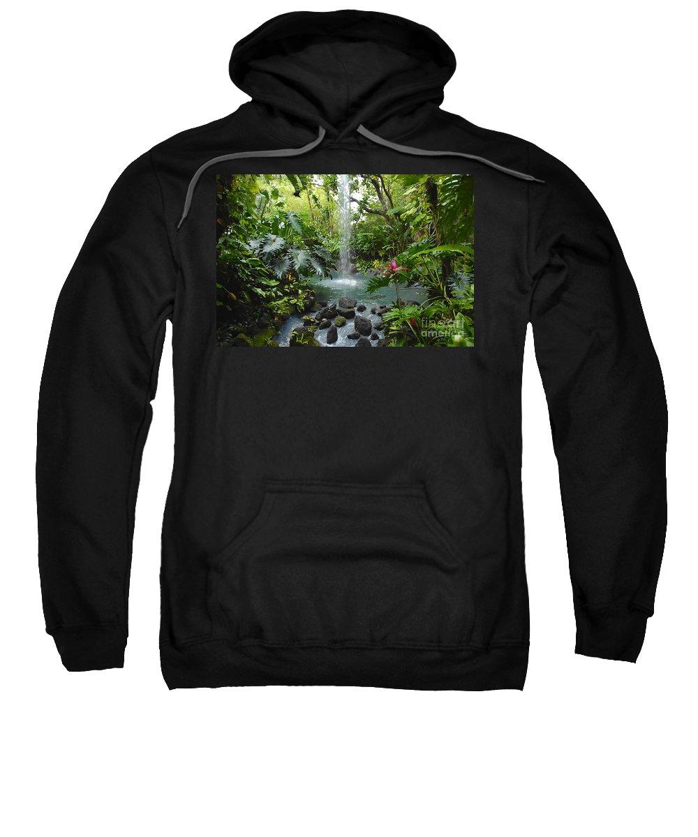 Garden Of Eden Sweatshirt featuring the photograph Eden by David Lee Thompson