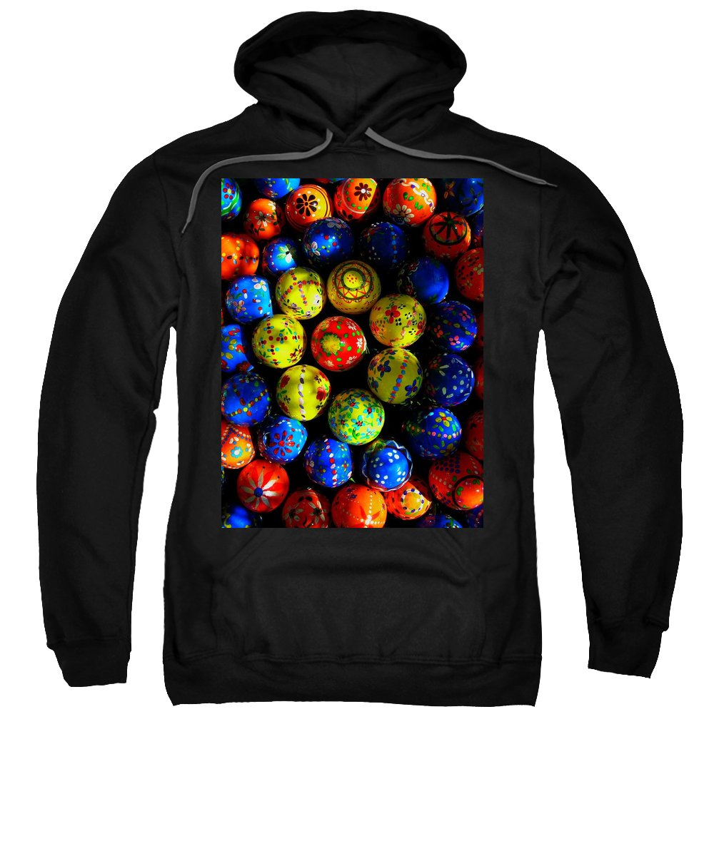Easter Sweatshirt featuring the photograph Egg - Parade by Juergen Weiss