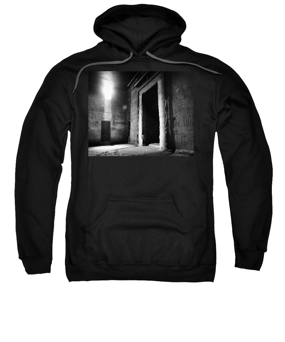African Sweatshirt featuring the photograph Egypt: Dendera: Temple by Granger