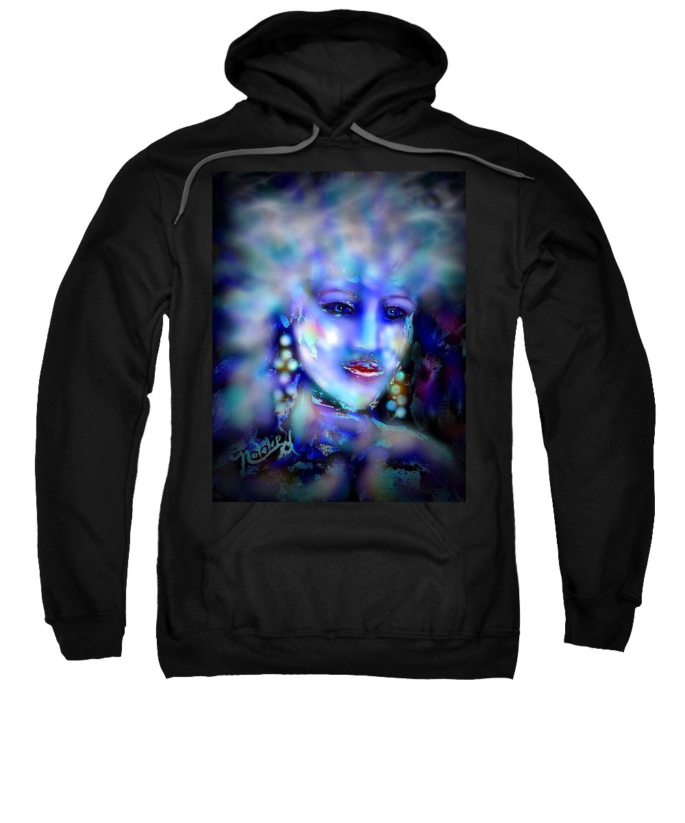 Woman Sweatshirt featuring the painting Electra by Natalie Holland