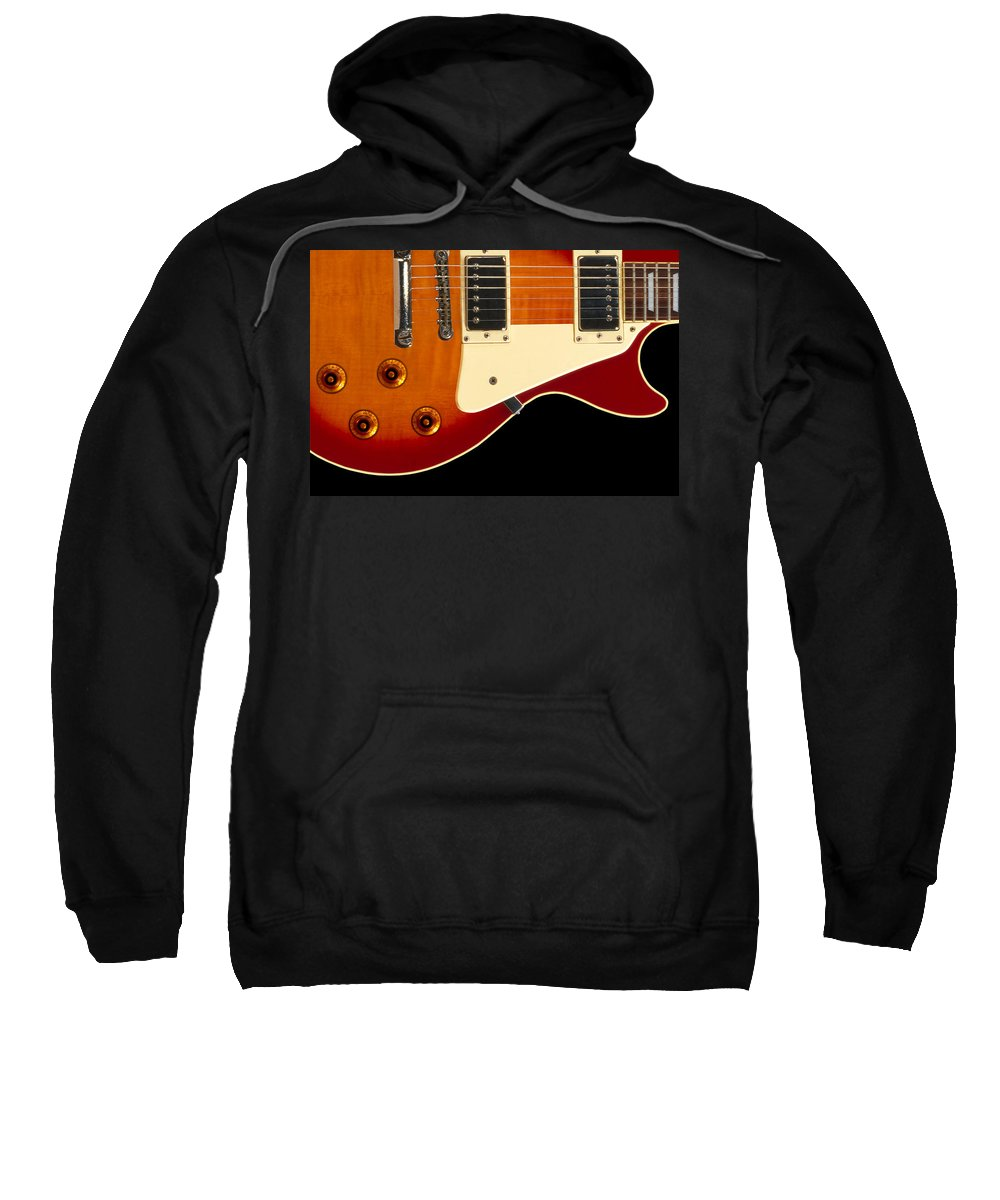 Rock And Roll Sweatshirt featuring the photograph Electric Guitar 4 by Mike McGlothlen