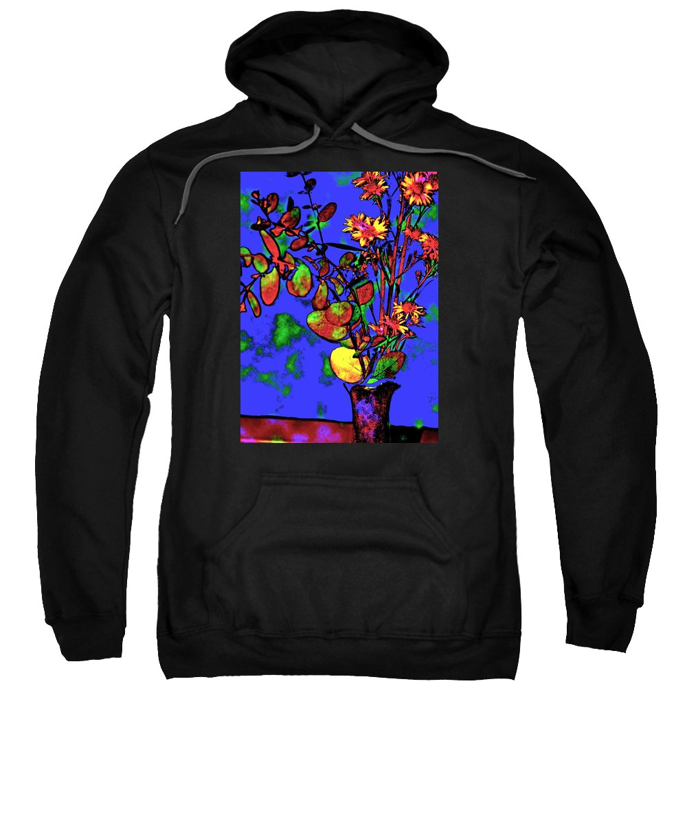 Floral Art Sweatshirt featuring the photograph Enchant by Warren Kasow
