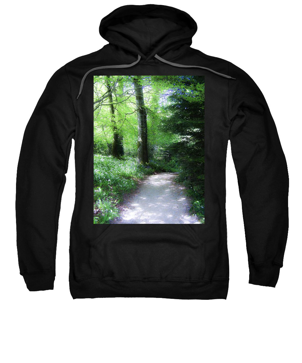 Ireland Sweatshirt featuring the photograph Enchanted Forest At Blarney Castle Ireland by Teresa Mucha