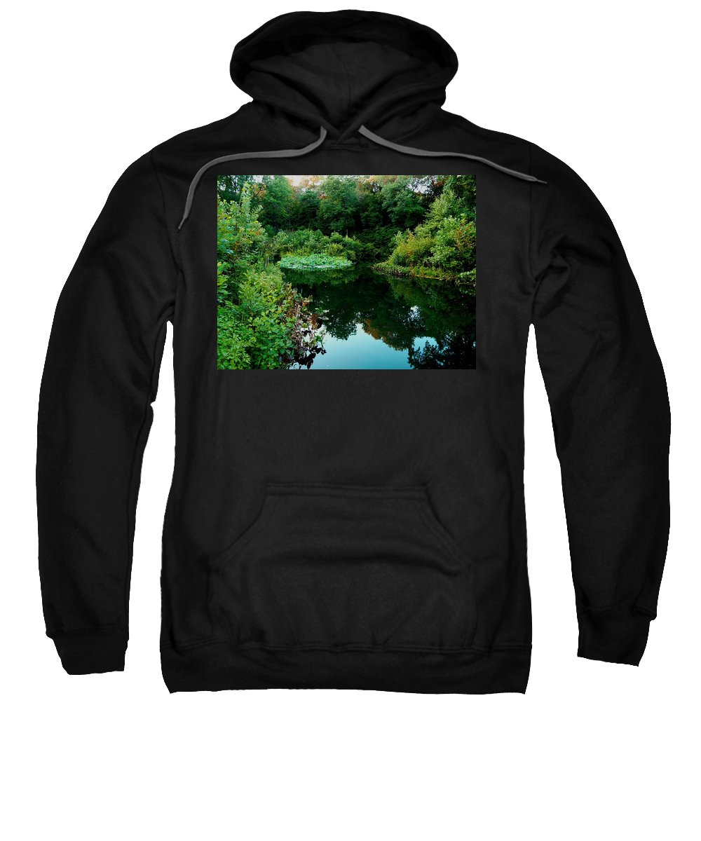 Garden Sweatshirt featuring the photograph Enchanted Gardens by Kendall Eutemey