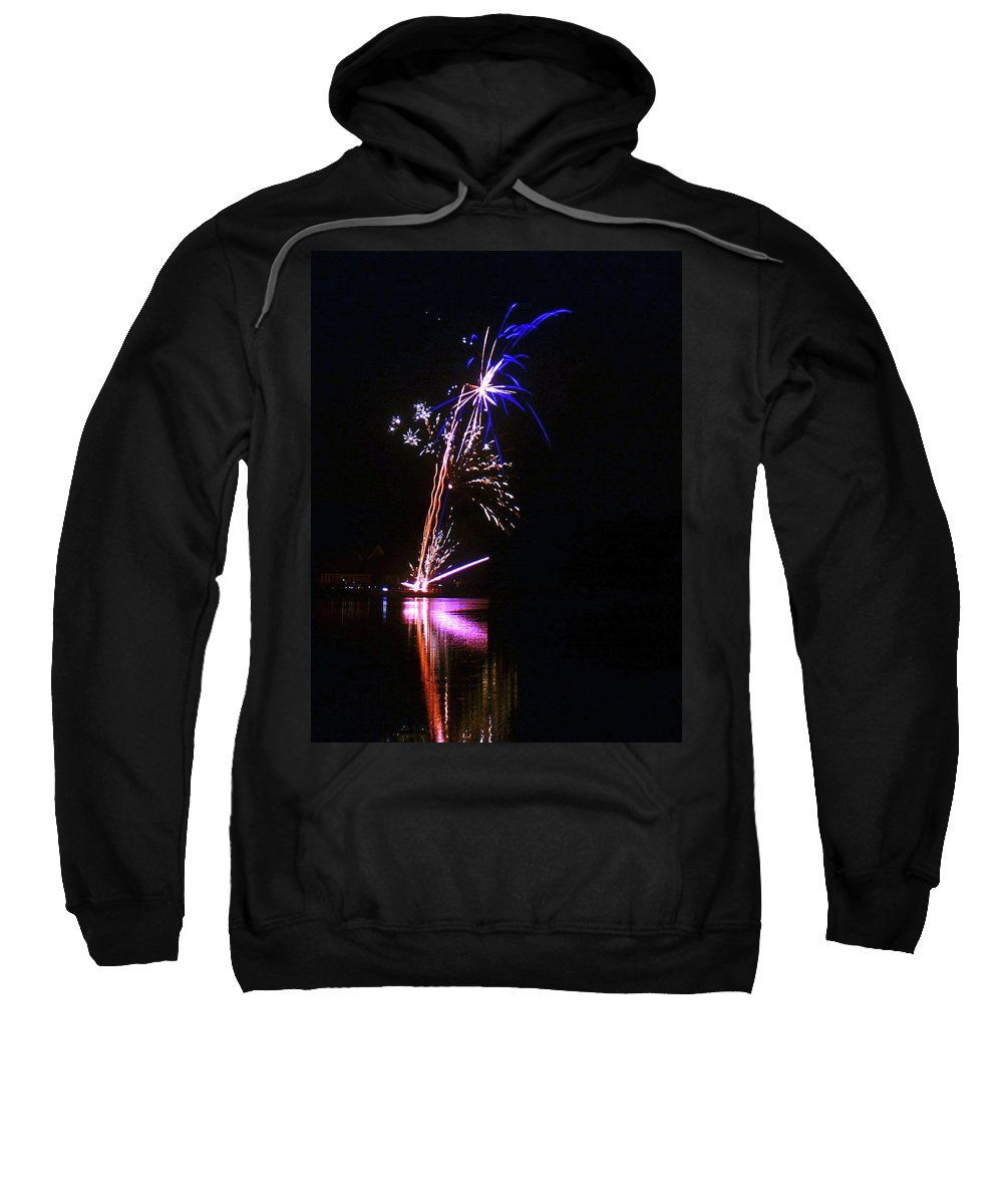 Fireworks Sweatshirt featuring the photograph Enigmatic - 160928psg148150704 by Paul Eckel