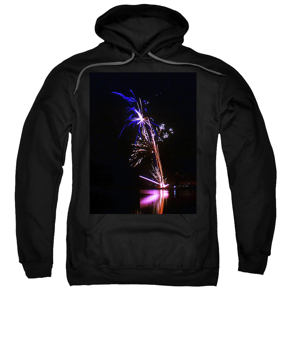 Fireworks Sweatshirt featuring the photograph Enigmatic - 160928psg148150704r by Paul Eckel