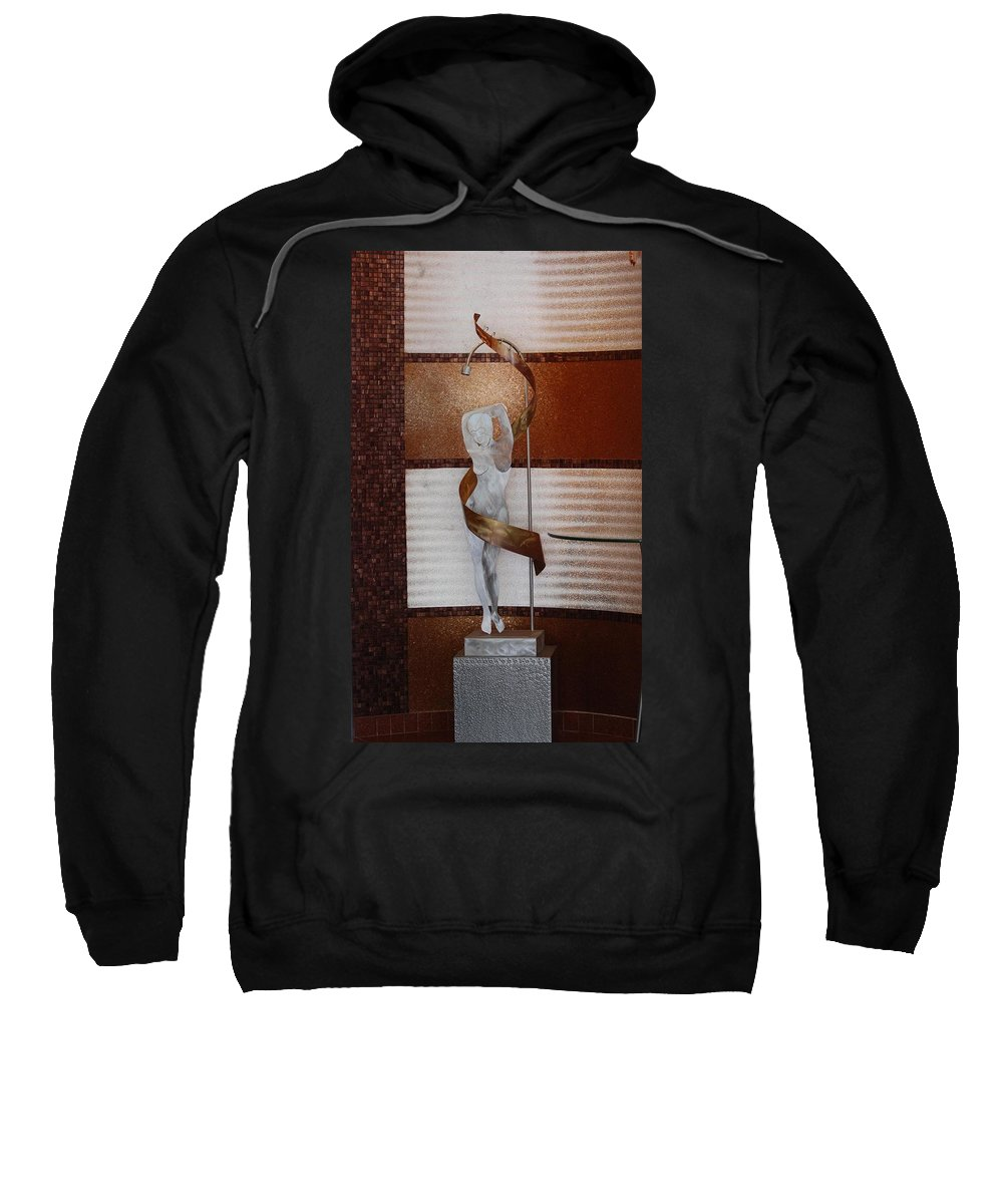 Statue Sweatshirt featuring the photograph Erotic Museum Piece by Rob Hans