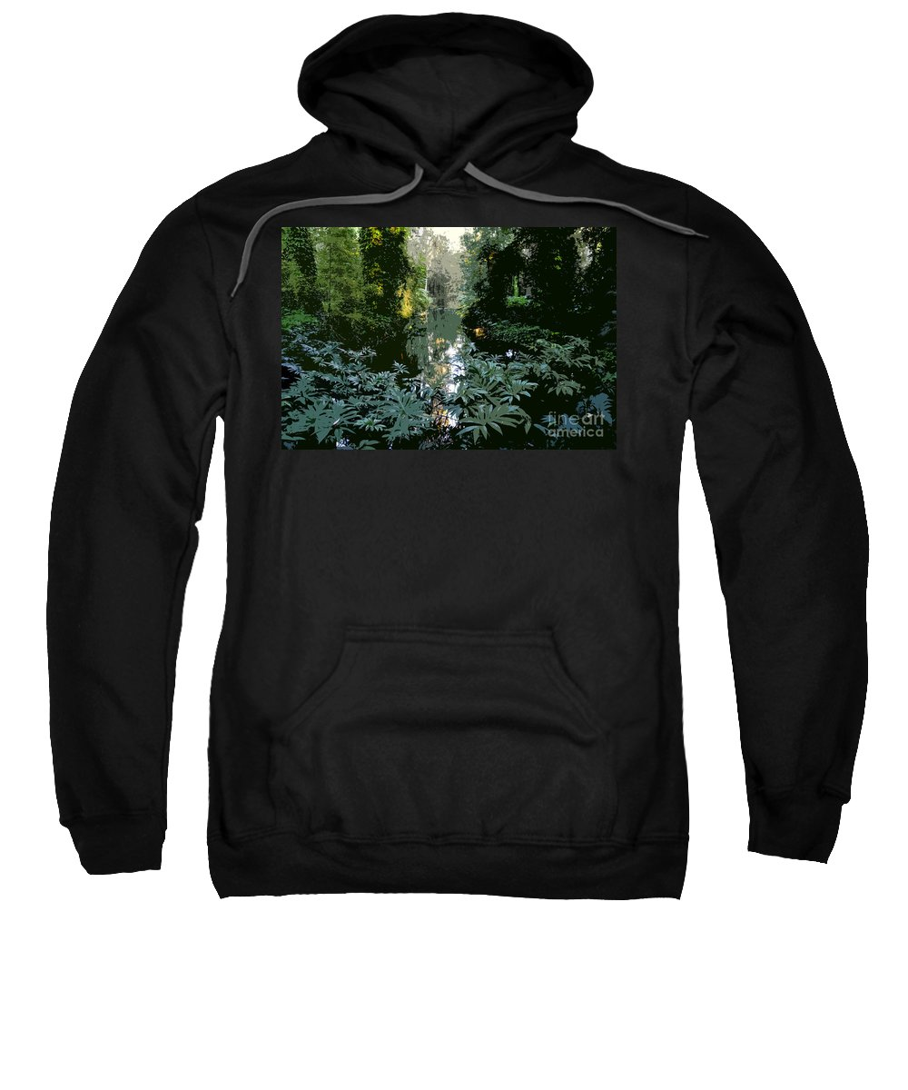 Spring Sweatshirt featuring the painting Eureka Springs by David Lee Thompson