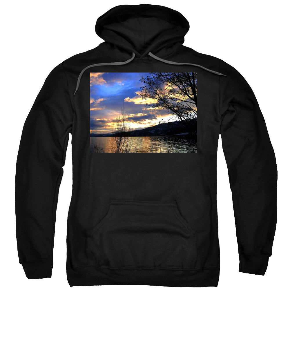 Sunset Sweatshirt featuring the photograph Evening Exhibition by Will Borden