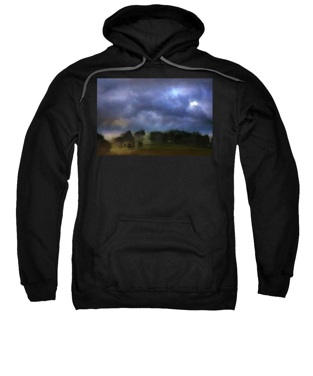 Ron Jones Sweatshirt featuring the photograph Evensong by Ron Jones