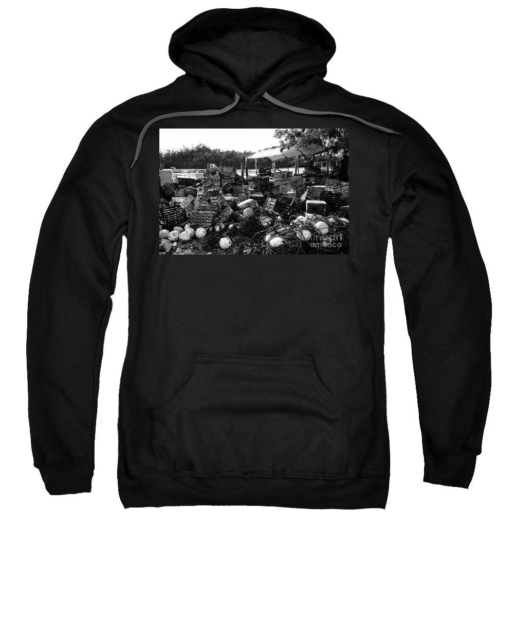 Stone Crabbing Sweatshirt featuring the photograph Everglades City Life by David Lee Thompson