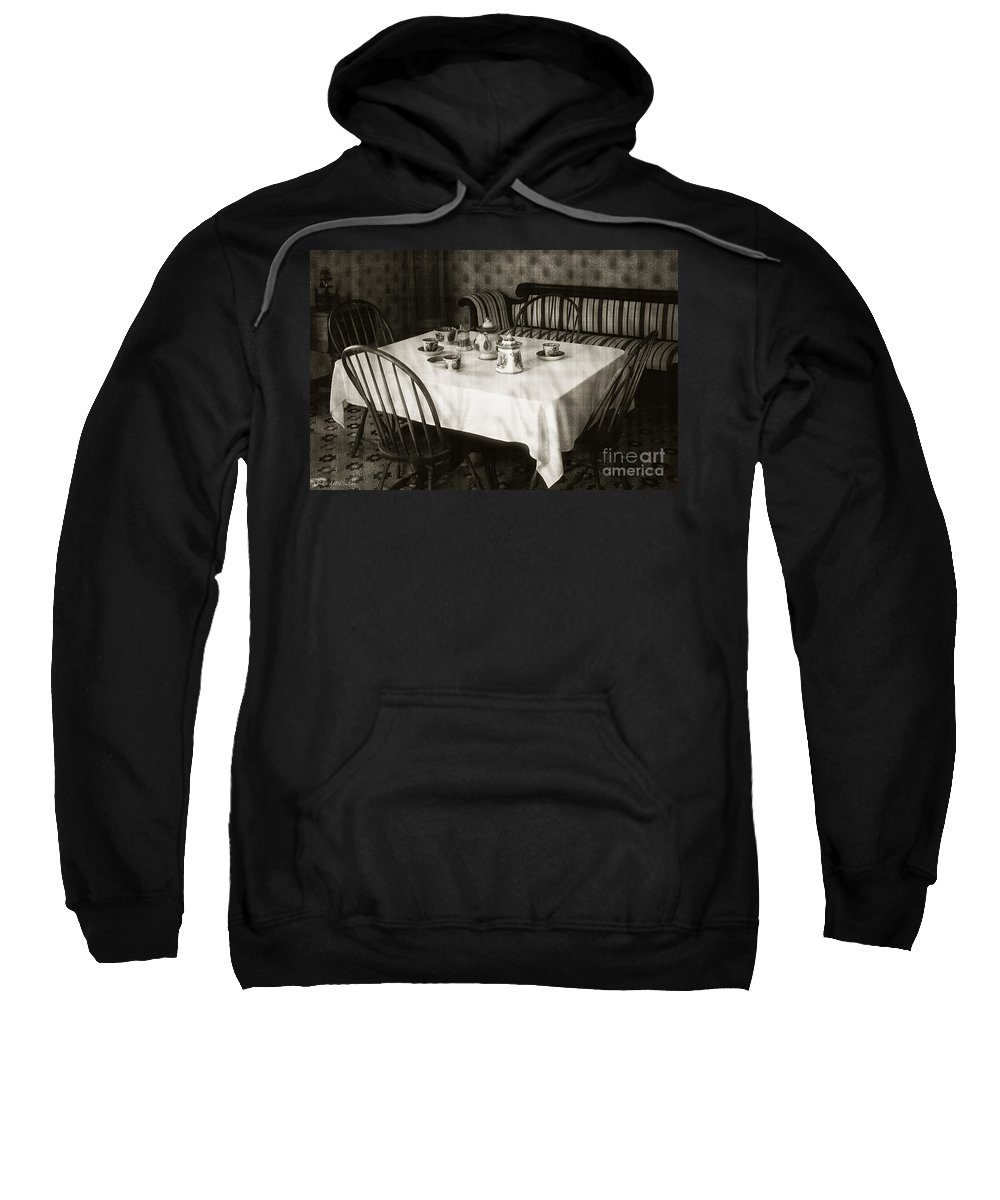 Still Life Sweatshirt featuring the photograph Expecting Guests by RC DeWinter