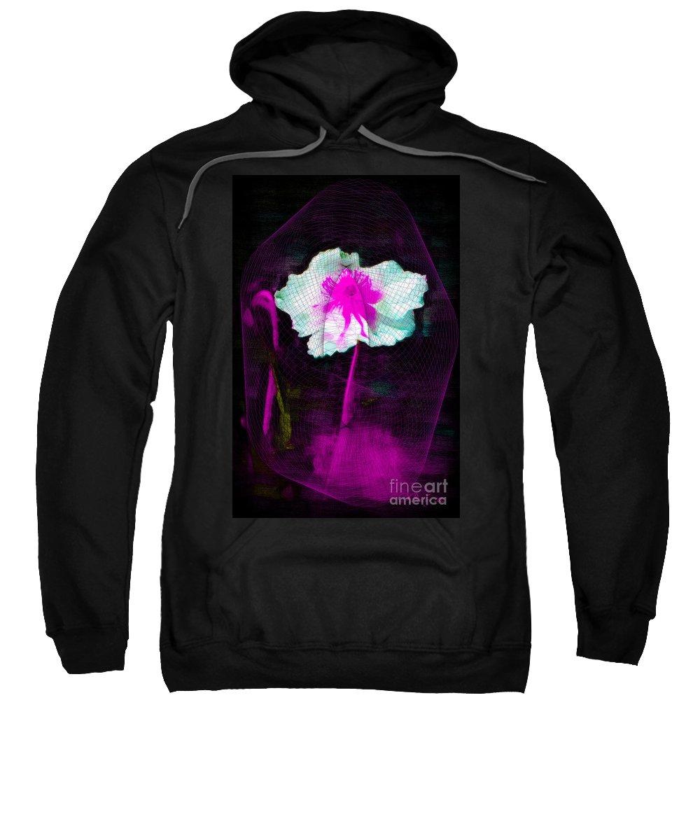 Flower Sweatshirt featuring the photograph Exquisite Capture by Donna Bentley
