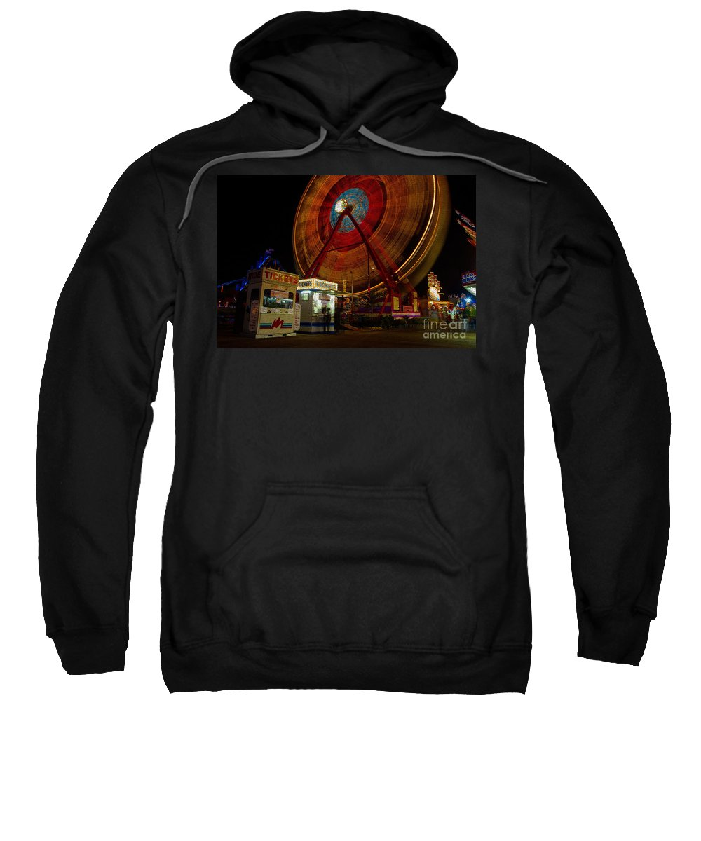 Fair Sweatshirt featuring the photograph Fair Dreams by David Lee Thompson